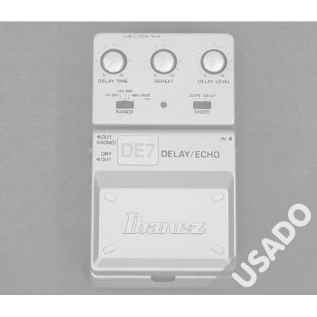 Ibanez Tone-Lok DE7 Delay/Echo *USADO*