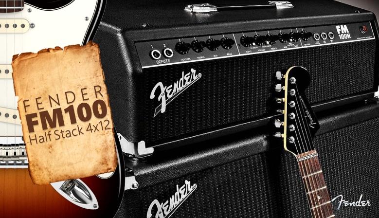 Fender FM 100 Half Stack FM412