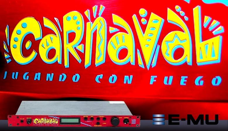 E-MU Carnaval - Jugando con Fuego - Synth module
