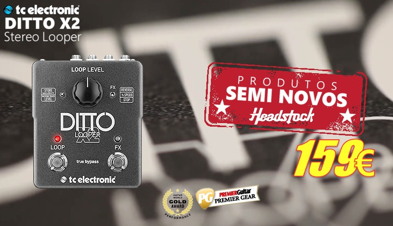 TC Electronic Ditto X2 Stero Looper