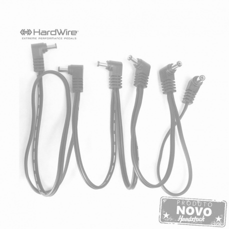 Hardwire Five Pedal Power Adapter Cable HV5