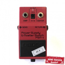 Boss PSM5 Power Supply & Master Switch