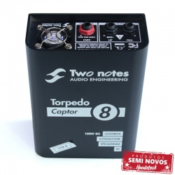 Two Notes Torpedo Captor 8 omhs