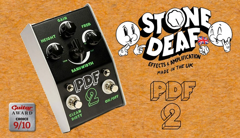 Stone Deaf FX PDF-2 Parametric Distortion Filter + EP-1 Expression Pedal