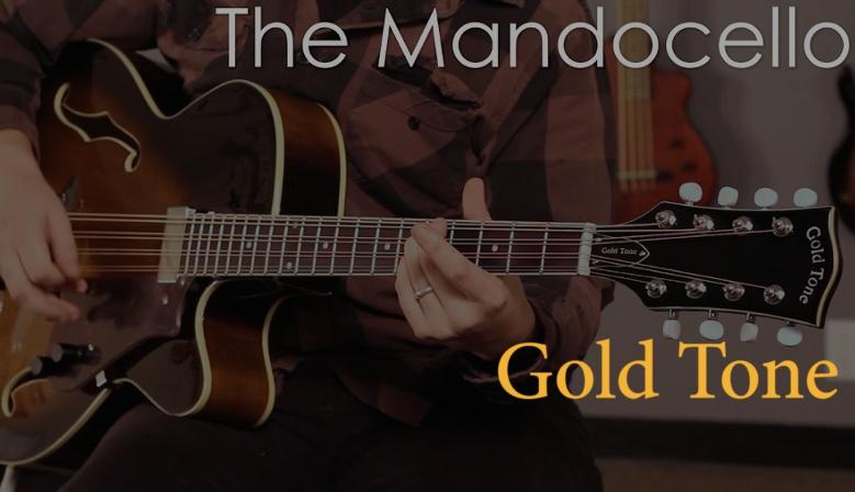 Gold Tone MandoCello