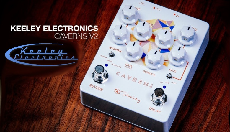 Keeley Electronics Caverns V2 Reverb Delay