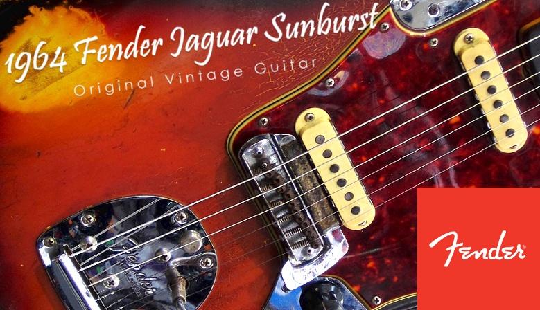 Fender Jaguar 1964 Sunburst - Guitarra eléctrica