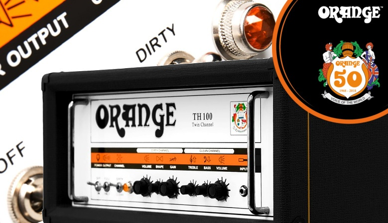 Orange TH100 amplificador guitarra
