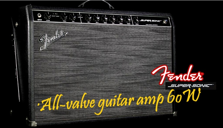 Fender Supersonic 60W Amplificador Guitarra