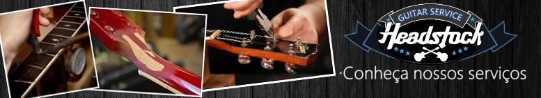 Headstock Guitar Set up! e serviços de Luthier
