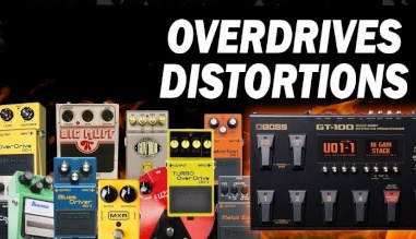 Overdrives e Distortions
